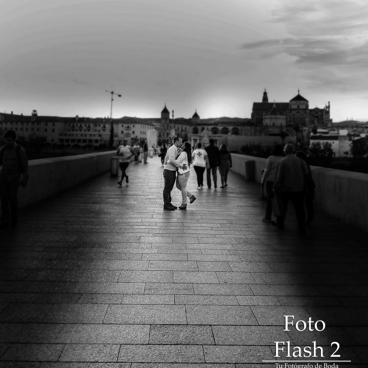 Preboda - Manuel y Sandra - Paseando por el puente romano