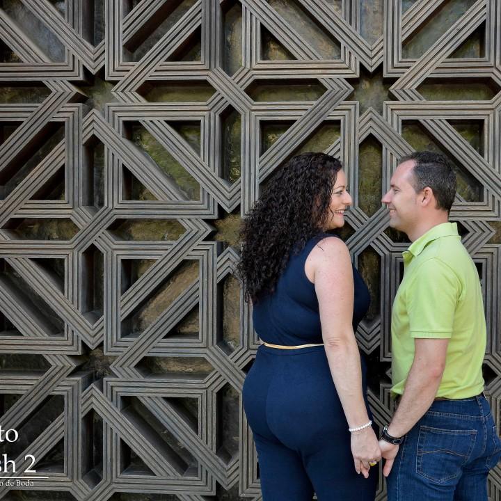 Jose Angel y Rosa Mª preboda en la Mezquita