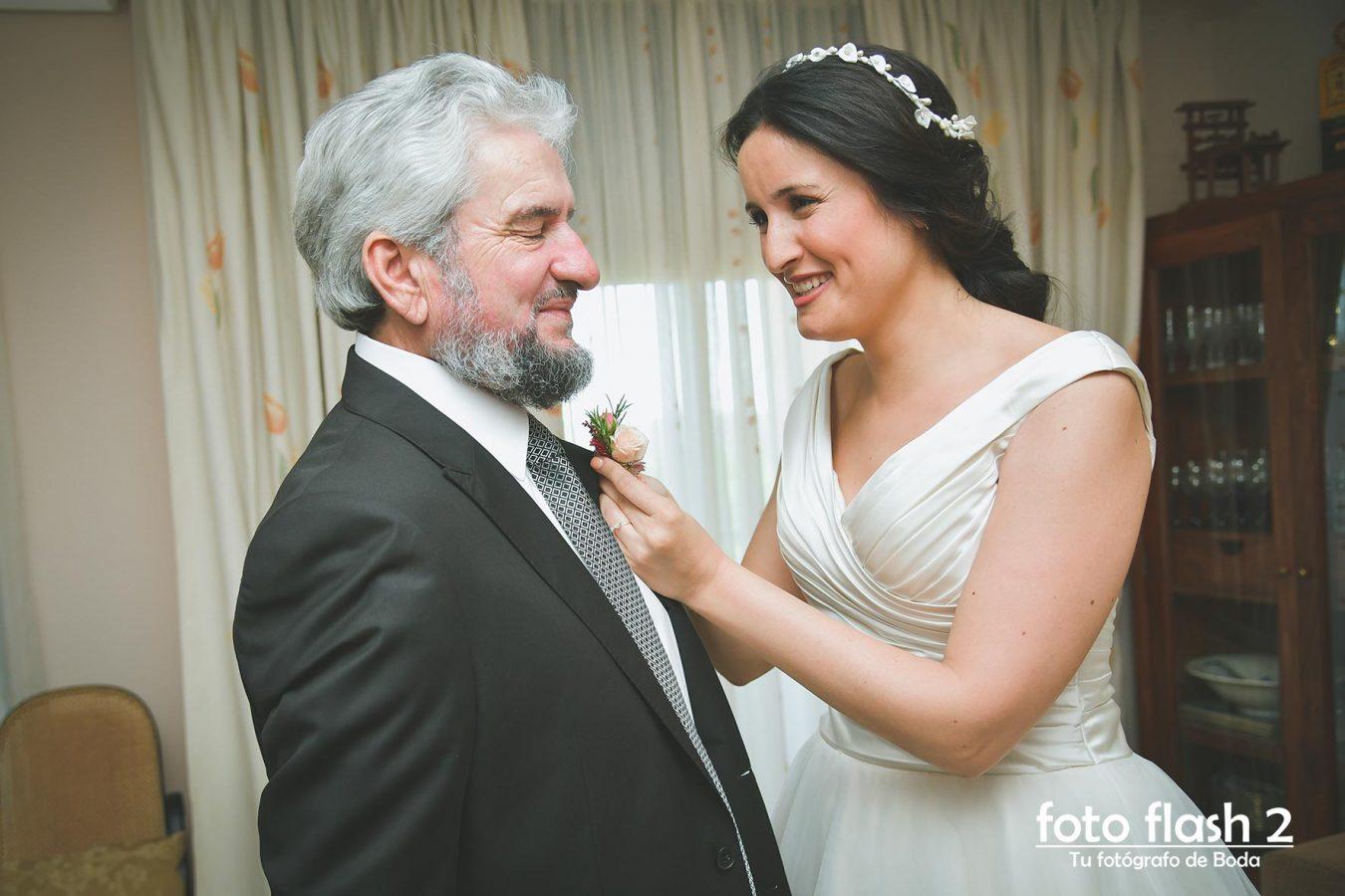 Boda civil de Andrés e Inma